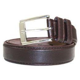 36 Bulk Mens General Leather Belt In Brown