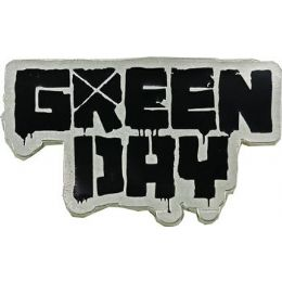 96 Bulk Green Day Belt Buckle