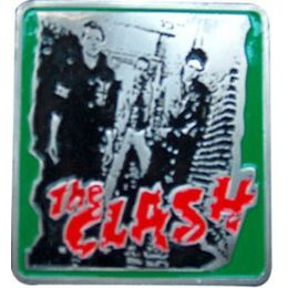 96 Bulk The Clash Belt Buckle