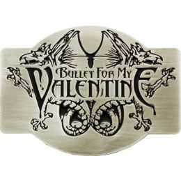 72 Bulk Bullet For My Valentine Belt Buckle