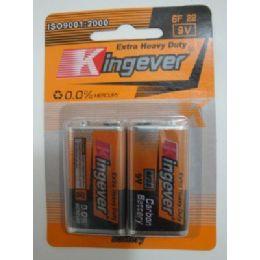 48 Bulk 2pk 9 Volt BatterY--Kingever