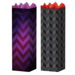 288 Bulk G-Bag Bottle Gls Triangles 2 Styles