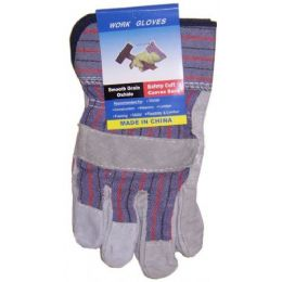 60 Bulk Closeout Suede Working Gloves
