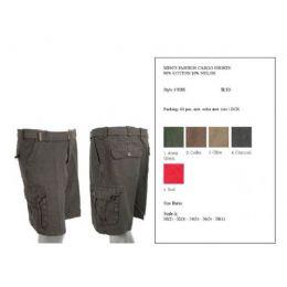 60 Bulk Mens Summer Cargo Shorts