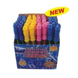72 Bulk Bubble Stick 10.6in Plain