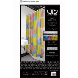 12 Bulk Bright Sunflower Deluxe Shower Curtain