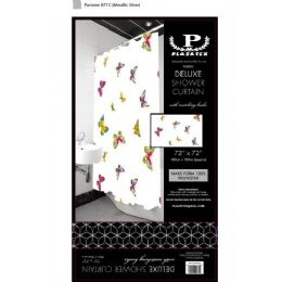 12 Bulk Butterflies Delxue Shower Curtain