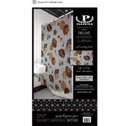 12 Bulk Seashells Deluxe Shower Curtain