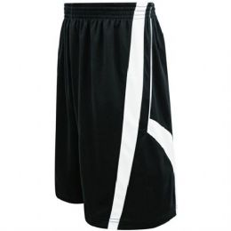 72 Bulk Mens Striped Basketball Shorts With Pockets And Draw String
