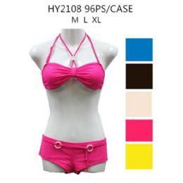 48 Bulk Ladies 2pc Beach Wear