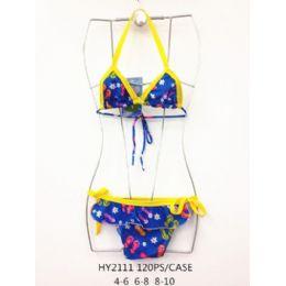 120 Bulk Girls 2pc Swim Set