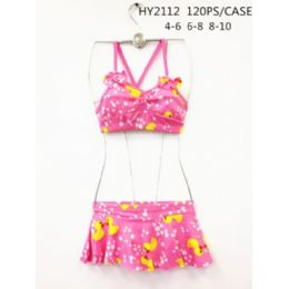 120 Bulk Girls 2pc Swim Set