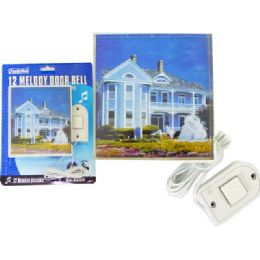 72 Bulk Door Bell Melody Square With Picture