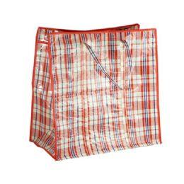 72 Bulk Plaid Shopping Bag
