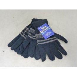 144 Bulk Gloves Men 2-Pk 4asst