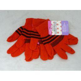 144 Bulk Gloves Women 2-Pk 6asst Color