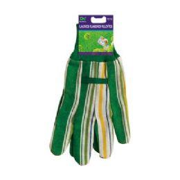 48 Bulk Ladies Garden Gloves