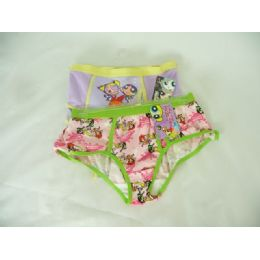 288 Bulk Panty High Cut Powerfuff 4 Print