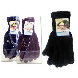 288 Bulk Glove 1pr 45g Asst Clr7.5x22.5cm