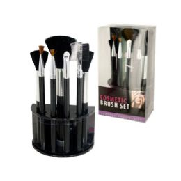 12 Bulk Wholesale Cosmetic Brush Set With Stand