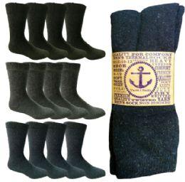 180 Bulk Yacht & Smith Men's Winter Thermal Crew Socks Size 10-13