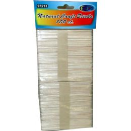 96 Bulk Craft Sticks 100pcs