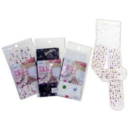 288 Bulk Stocking Girl's One Size3asst Design