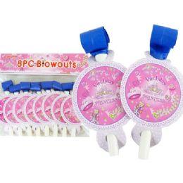 144 Bulk Blowout 8pc Butterfly Design