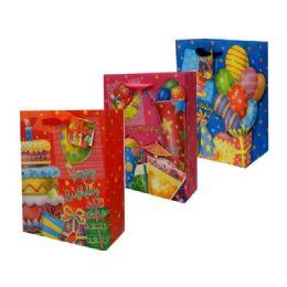 144 Bulk Bag Xl Birthday W/gl 30x10.5x38.5cm