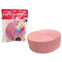 96 Bulk Streamer Pink 1 Piece