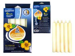 96 Bulk Candle 5 Piece In Window Box
