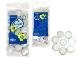 72 Bulk Candle 18 Piece In Bag