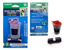 144 Bulk Dog Poop Bag 2pc+canister W/ C