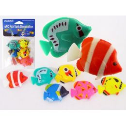144 Bulk Fish Decoration 6pc/pk Asst