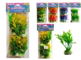 144 Bulk 6 Piece Fish Tank Tree Decoration