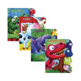 48 Bulk Learning Animal Board Book W/ Tab