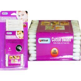 72 Bulk Cotton Swab 350 Count Estella