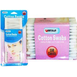 60 Bulk 550 Piece Cotton Swabs