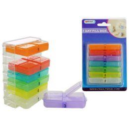 72 Bulk 7 Day Pill Box