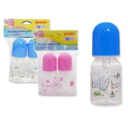 72 Bulk Baby Bottle - 4 oz