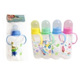 96 Bulk Baby Bottle With Handle 8oz