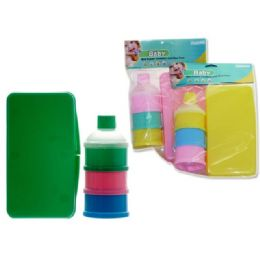 48 Bulk Wiper Holder And Powder Case In Assorted Colors