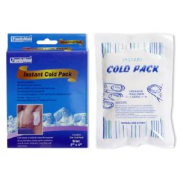 72 Bulk Instant Cool Pack 5x6""