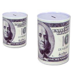 24 Bulk Saving Tin Coin Bank