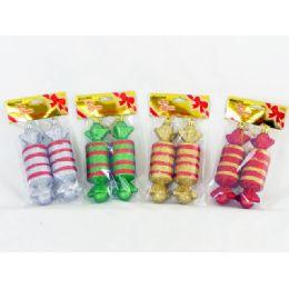 144 Bulk Xmas Candy 2 Piece Set