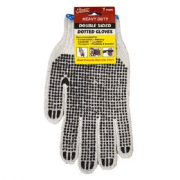 72 Bulk Double Sided Dotted Working Glove