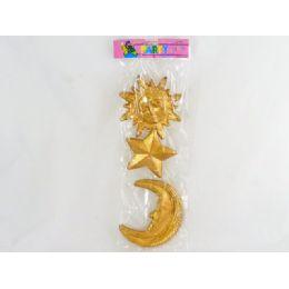 144 Bulk Decoration, Pl Star, Moon Andsun
