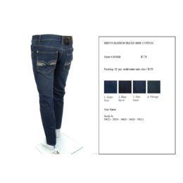 12 Bulk Mens Fashion 100% Cotton Jeans