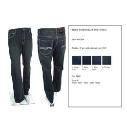 12 Bulk Mens Fashion Jean 100% Cotton