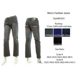 12 Bulk Mens Fashion Jeans